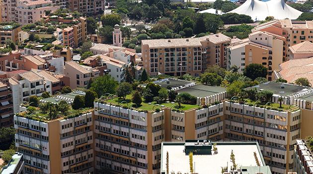 Un jardin sur le toit - Jardin sur terrasse toit dijon ...