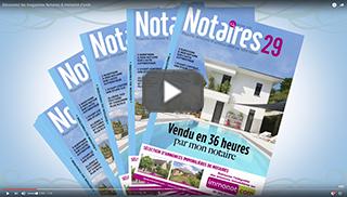Découvrez les magazines Notaires & immonot d'août